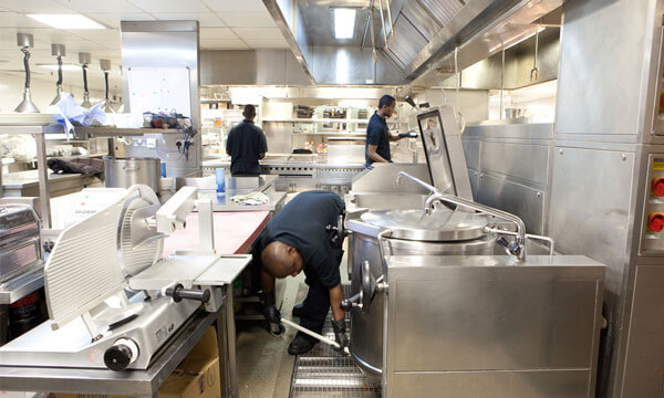 commercial kitchen deep cleaning