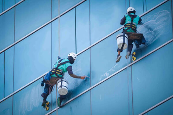 high rise window cleaning Services